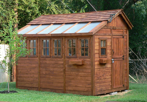 Outdoor Living 8'X12' Sunshed Garden Shed